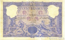 100 Francs ROSE ET BLEU FRANCE  1888 F.21.01 TB