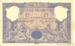 100 Francs ROSE ET BLEU FRANCE  1907 F.21.22 SUP