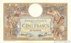 100 Francs LUC OLIVIER MERSON type modifié FRANCE  1938 F.25.35 SUP