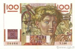 100 Francs JEUNE PAYSAN FRANCE  1946 F.28.11 pr.SPL