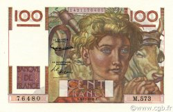 100 Francs JEUNE PAYSAN FRANCE  1953 F.28.40