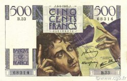 500 Francs CHATEAUBRIAND FRANCE  1945 F.34.02 SPL+