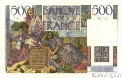 500 Francs CHATEAUBRIAND FRANCE  1953 F.34.12 pr.SPL