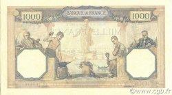 1000 Francs CÉRÈS ET MERCURE FRANCE  1931 F.37.06 SUP+
