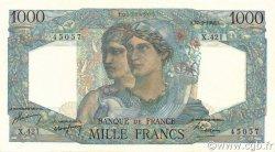 1000 Francs MINERVE ET HERCULE FRANCE  1948 F.41.21 SPL