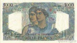 1000 Francs MINERVE ET HERCULE FRANCE  1950 F.41.32 SUP