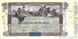 5000 Francs FLAMENG FRANCE  1918 F.43.01 TTB+