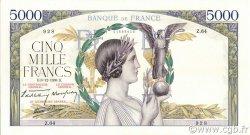 5000 Francs VICTOIRE Impression à plat FRANCE  1938 F.46.01 SUP+