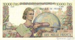 10000 Francs GÉNIE FRANÇAIS FRANCE  1950 F.50.28 TTB