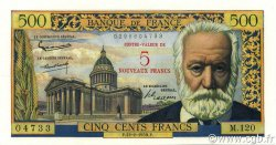5 NF sur 500 Francs Victor HUGO FRANCE  1959 F.52.02 NEUF