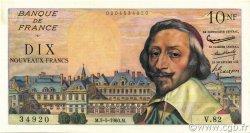 10 Nouveaux Francs RICHELIEU FRANCE  1960 F.57.07 SUP+