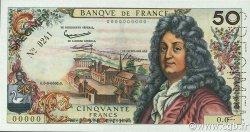 50 Francs RACINE FRANCE  1962 F.64.00