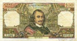100 Francs CORNEILLE FRANCE  1977 F.65.58 TB+