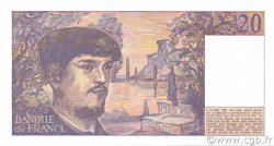 20 Francs DEBUSSY FRANCE  1984 F.66.05 SPL+