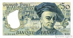 50 Francs QUENTIN DE LA TOUR FRANCE  1985 F.67.11 SUP+