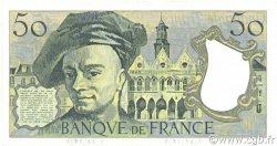 50 Francs QUENTIN DE LA TOUR FRANCE  1988 F.67.14 pr.SPL