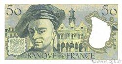 50 Francs QUENTIN DE LA TOUR FRANCE  1988 F.67.14 SUP+