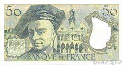 50 Francs QUENTIN DE LA TOUR FRANCE  1991 F.67.17 pr.SPL