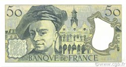 50 Francs QUENTIN DE LA TOUR FRANCE  1992 F.67.18 SPL+