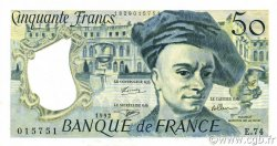50 Francs QUENTIN DE LA TOUR FRANCE  1992 F.67.19e SUP