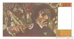100 Francs DELACROIX imprimé en continu FRANCE  1990 F.69bis.02a NEUF