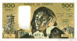 500 Francs PASCAL FRANCE  1976 F.71.14 SUP+