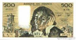 500 Francs PASCAL FRANCE  1980 F.71.21 SPL