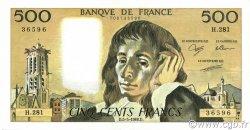 500 Francs PASCAL FRANCE  1988 F.71.39 SUP+