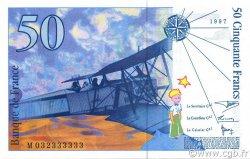 50 Francs SAINT-EXUPÉRY modifié FRANCE  1997 F.73.04 SPL+
