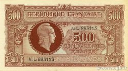 500 Francs MARIANNE FRANCE  1945 VF.11.01 NEUF