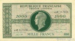 1000 Francs MARIANNE chiffres maigres FRANCE  1945 VF.13.02 pr.NEUF