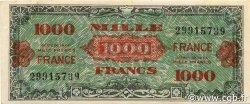 1000 Francs FRANCE FRANCE  1944 VF.27.01x SUP
