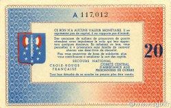 20 Francs BON DE SOLIDARITE FRANCE régionalisme et divers  1941 KL.08 pr.NEUF