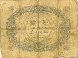 10 Francs ALGÉRIE  1871 P.014 pr.TB