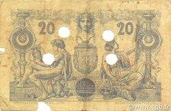 20 Francs type 1873 avec ALGER ALGÉRIE  1874 P.015 B+