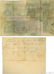 20 Francs ALGÉRIE  1887 P.015x B+