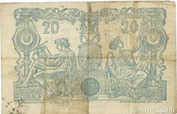 20 Francs ALGÉRIE  1898 P.015x TTB
