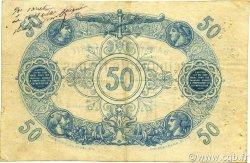 50 Francs ALGÉRIE  1877 P.017x TB