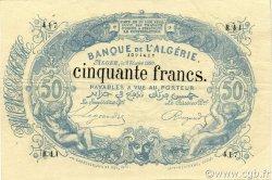 50 Francs ALGÉRIE  1880 P.017 TTB+