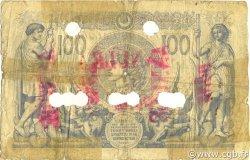 100 Francs 1874 succursales avec ALGER ALGÉRIE  1877 P.027 B+