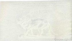 5 Francs type 1873 ALGÉRIE  1903 P.071- NEUF