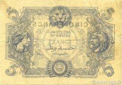 5 Francs ALGÉRIE  1917 P.071b TTB