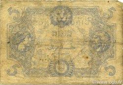 5 Francs type 1873 ALGÉRIE  1919 P.071b pr.TB