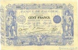 100 Francs ALGÉRIE  1911 P.074 TTB+