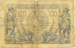 100 Francs type 1874 sans ALGER ALGÉRIE  1911 P.074 B+