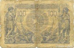 100 Francs type 1874 sans ALGER ALGÉRIE  1911 P.074 B