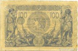 100 Francs type 1874 sans ALGER ALGÉRIE  1919 P.074 TB