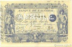 100 Francs type 1874 sans ALGER ALGÉRIE  1911 P.074s SUP