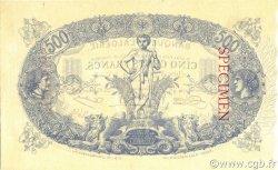 500 Francs ALGÉRIE  1903 P.075s SPL
