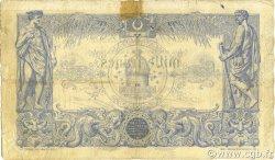 1000 Francs type 1875 ALGÉRIE  1909 P.076a TB
